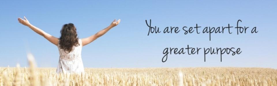 Greater Purpose